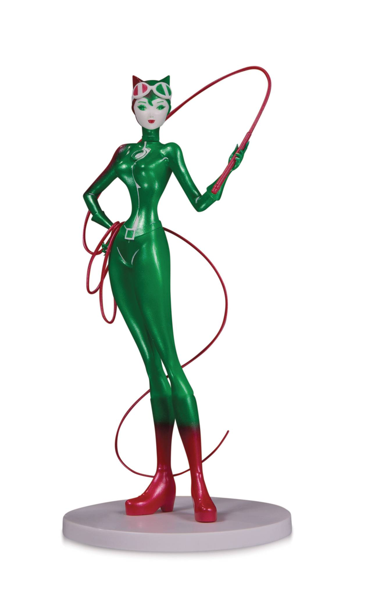 DC Comics Artists Alley Catwoman Holiday Sho Murase Statue